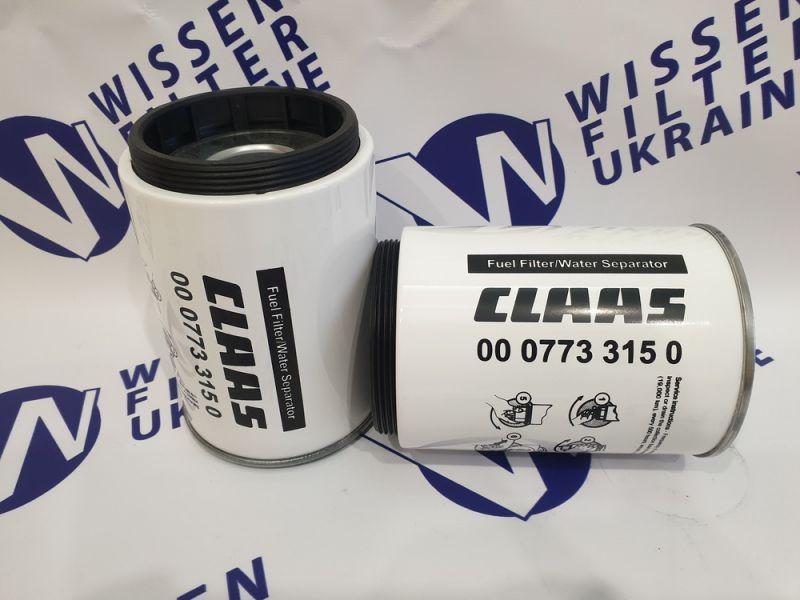 Фильтр топливный Claas 7733150>>687110>>0007733150