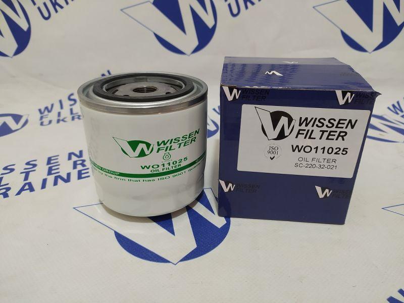Фильтр масляный Wissen WO11025